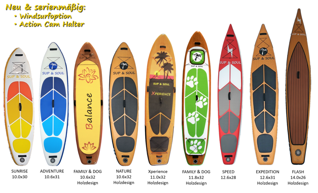 SUP & SOUL Boards 2019