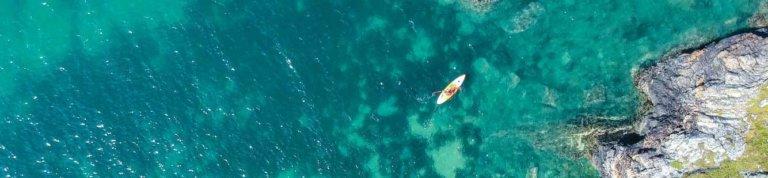 SUP und Meer
