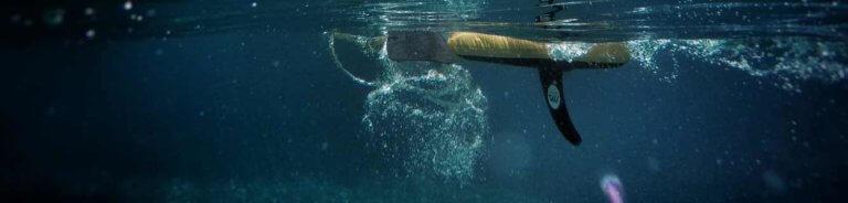 SUP unterwasser