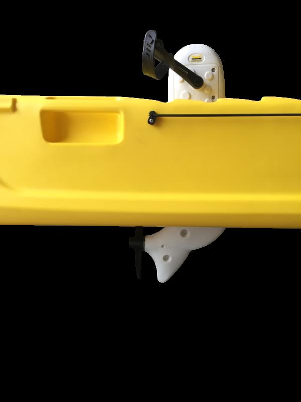 Pedal Kajak gelb Seitenansicht
