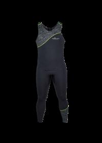 Airprene Long John schwarz mit grünem Streifen