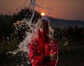 STANDOUT Drysuit Rot gemodelt von Kind