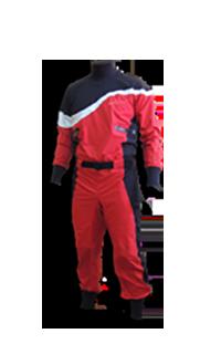 STANDOUT Drysuit Rot Produktfoto