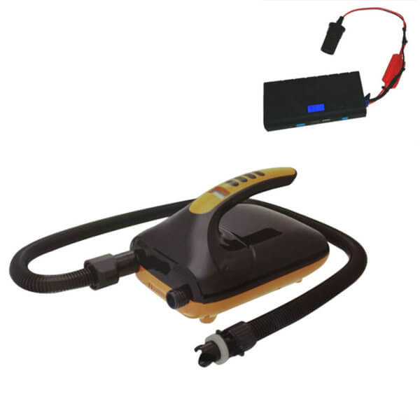 elektrische Pumpe 20 PSI 12V-230V Akkubetrieb LCD Anzeige