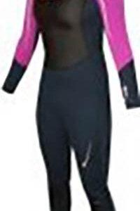 Neopren Fully für Frauen Schwarz-Pink