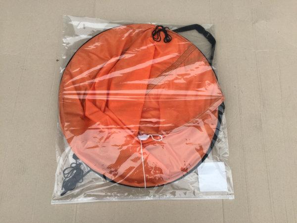 Sonnendach für Kajaks in Verpackung (orange)