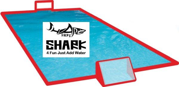 SUP Polo Feld SHARK