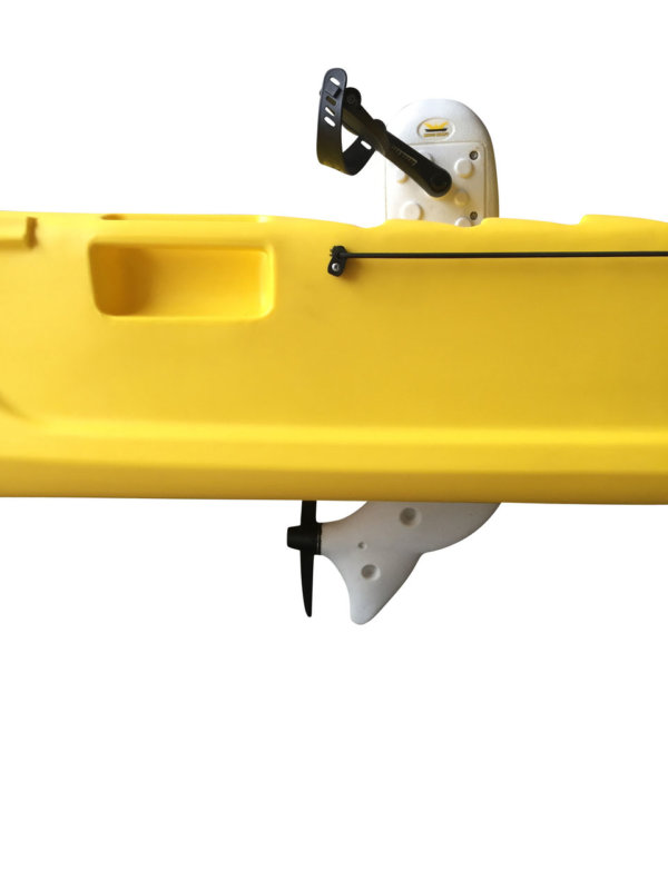 Wasser Bike Pedal Kajak 2 Sitzer Luxus Ausführung gelb Pedale