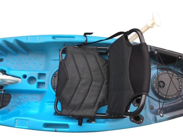 Wasser Bike Pedal Kajak 2 Sitzer Luxus Ausführung türkies Sitz