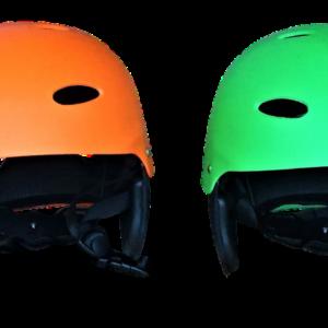 Wassersporthelm verstellbar in vier Farben (blau/orange/grün/gelb)