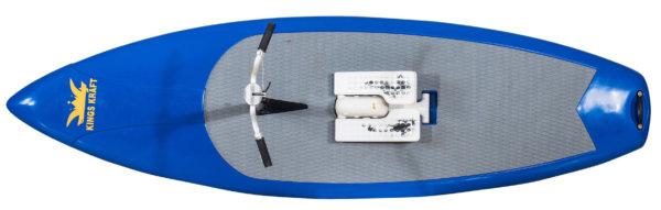 Water Stepper Pedal SUP blau