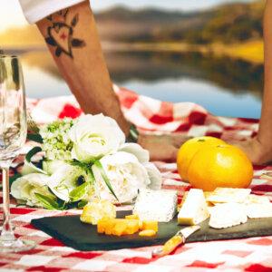 Romantisch essen und grillen in Graz auf der Mur