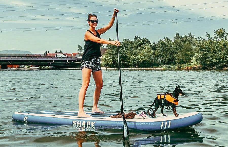 SUP mit Hund – Einzelstunde möglich Samstag 28. August 2021 12:30 Uhr