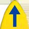 SUP Board zeigt nach oben